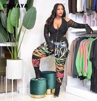 Cm. Yaya streetwear vrouwen dentelle dentelle haleine hiche hip hip hop hip hop broek sport sport joggerbingbroek
