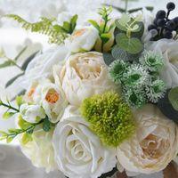 Ebedi Melek Ipek Çiçek Simülasyon Çiçek Düğün Düğün Gelin Holding Çiçekler Roses1