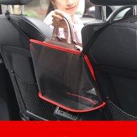 سيارة حقيبة مقعد المنظم متعدد جيب شماعات شبكة أكياس مطوية حقيبة التخزين شماعات الخلفية غطاء مقعد حقيبة السفر محفظة حمل حقائب حامل E122804