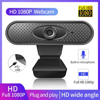 Webcam USB Full HD 720p 1080P Webcam USB con microfono Video webcam senza driver per insegnamento online Invest Broadcast nella scatola al minuto