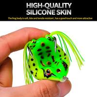 17.5g 6.5cm 개구리는 생생한 부드러운 작은 점프 개구리 낚시 미끼 낚시 미끼 낚시 장비에 대 한 미끼 실리콘 미끼를위한 미끼 낚시 장비 크랭크 바트 크랭크 바트