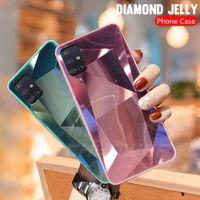 Для iPhone 12 Mini Pro Max 11 XR X XS 6 7 8 плюс 6S Телефон Чехол 3D Алмазная Призма Голографическая лазерная крышка
