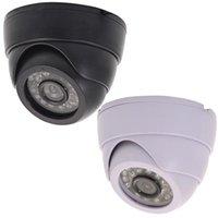 1200TVL Costruito in 3,6 millimetri Camera Lens 24LED esterna impermeabile di IR di sicurezza CCTV di visione notturna