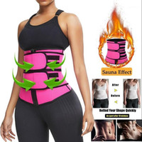 Fashionable Waist Trainer Women Slimming Sheath Tummy Reducing Shapewear Belly Shapers Sweat Body Shaper Sauna Corset Trimmer Belts