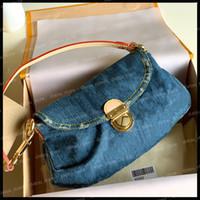 Çanta Kadın Lüks Tasarımcılar Crossbody Çanta 2021 Moda Vintage Denim Omuz Çantası Kot Tasarımcılar Bayan Çanta Çantalar Tote Çanta Güzel