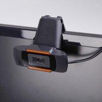 Hd webcam 1080p USB caméra enregistrement vidéo caméra web rotattable 2.0 360 degrés avec microphone pour ordinateur ordinateur1