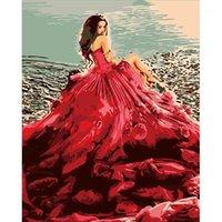 The Beauty Paint by Number Surprise Regalo Art Forniture Dropship FAI DA TE Strumenti da colorare Immagine Bella pittura da numeri1