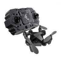 DRONES MINI DRONE DRONE ROMOTE Controllo elicottero quadcopter con fotocamera grandangolare HD Pieghevole pieghevole Hold Durevole RC Aircraft Bambini giocattoli1