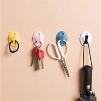 Starke Wandhaken Aufhänger für Küche 1 stück Multicolor Badezimmer Handtuchhaken Schlüsselhalter Home Organisation Zubehör YHM811