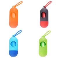 Dog-Reinigungs-Produkt-Toilette bewegliches Go Out Notwendige Tierzubehör Abfall-Taschen Mini-Mehrfarben Alloter Kreative 1 1JY F2