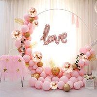 116pcs 5m látex pastel globo guirnalda kit oro confeti globos para fiestas baby shower cumpleaños gallina fiestas telón de fondo T200624