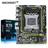 Anakartlar Makinatör X79 Turbo Anakart LGA2011 Destek DDR3 ECC Bellek Xeon E5 V1 V2 İşlemci PCI-E NVME M.2 V2.82
