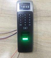 지문 액세스 제어 1.8 인치 TFT TCP / IP USB 포트 3000 사용자 125KHz RFID 생체 인식 제어 장치 직원 시간 출석 Clock1