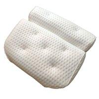 Badewanne Zubehör Set Kissen 4 D Net Tuch Badezimmer Bequemes Kissen, Einwässer Rückenlehne Haushaltsartikel Toilettenartikel Dekor