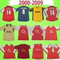 Arsenal Jersey 모든 2,000에서 2,009 사이 복고풍 유니폼 빈티지 축구 유니폼 고전 축구 셔츠 V.PERSIE 피레스 베르캄프 HENRY REYES 비에이라 융베리 파브레가스 RED