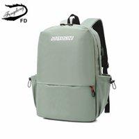 Fengdong Girls School Bags Student Fashion Backpacks Bookbag Female Impermeable Viaje Mochila Mujer Bagpack Deportes Mochila C0121
