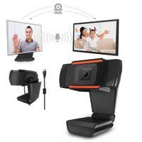 Ruotabile HD Webcam del PC Mini USB 2.0 Definizione Web videocamera Registrazione di alta con 1080p / 720p / 480p immagini a colori veri