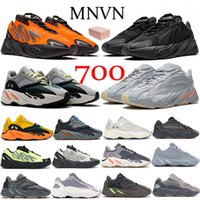 2021 Runner 700 V2 Orange Triple Black Reflective running shoes Solid Grey mauve Carbon Blue Inertia Women Men Trainers Sneakers
