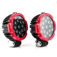 3 / 4.3 / 5/7 pulgadas LED Luz de trabajo Barra de luz Cubo Pods Square Inundación SUV Lámpara de conducción Offroad ATV Jeep