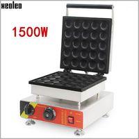 빵 제조사 Xeoleo 와플 메이커 Machine Dorayaki Electric Muffin 조식 25 홀 상업 베이킹 110 / 220V1