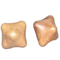 마사지 베트남어 향기로운 목재 육각형 공 활성 긁는 림프 배수 손 마사지