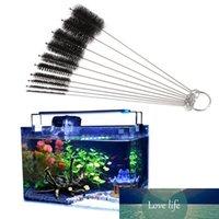 10pcs Aquarium Brosses Set Clean Nettoyage Tube Tube Nettoyeur pour boire des lunettes de paille Bijoux Bijouterie Botte JAR Kit de ménage