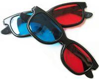 Ventas directas de fábrica Tipo universal Tipo 3D Gafas 3D Red y azul Cyan Stereo Embalajes Rojo y azul Cyan Nvidia Vision 3D Vision