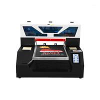 Yazıcılar Otomatik DTG Flatbed Yazıcı Multifuntion A3 Tişört Mürekkep Püskürtmeli Baskı Makinesi ile Dokunmatik Ekran Giyim Mürekkep Çevrim Sistemi1