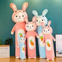 stilleri Kid yeni stil büyük gözlü turp tavşan peluş oyuncak sevimli uzun atış bebek çeşitli mevcuttur