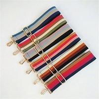حقائب اليد حزام حزام النايلون مخطط المنسوجة حزام لل crossbody حقيبة الكتف أحزمة حقيبة حقيبة أجزاء الملحقات