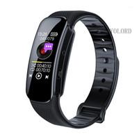 Digital Voice Recorder 1080P HD Slim mini grande schermo OLED Registrazione reporter Smart Wristband Band Guarda Braccialetto1