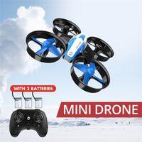 Holy Stone RC Mini Drones sin cabeza Cuadrupter grande Dron One Key Land Auto Hovering Helicopter 360 Grado Flip RC Toys 201221