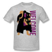 Camisetas para hombres Comerciante Camiseta divertida para hombres Escuino de los hombres Cuello de la tripulación O Verano Casual T Shirt Cola de algodón Residenced Malvil Zombie Game Grafic Top1