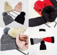 21ss 성인 여성을위한 두꺼운 따뜻한 겨울 모자 소프트 스트레치 케이블 니트 pom poms 비니 모자 여자 skullies 소녀 스키 캡 비니 모자