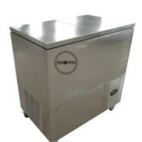 18000 PC industriales / día 6 moldes automáticos Popsicle máquina refrigerante R410A