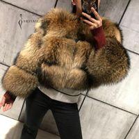 Meiyangyoung Manteau Faux Faux Fourrure Femmes Élégant Épais Épais Hiver Veste à fourrure Chaud Suproats Plus Taille Femme Haute Qualité Outerwear1