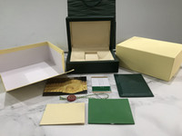 En kaliteli sıcak satış koyu yeşil saat kutusu, şık zarif narin watch kutusu, en iyi hediye kutusu, kaliteli kutular
