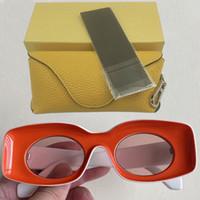 النساء lw 40033 نظارات شمسية 2021 نظارات جولة المرأة خمر الرجعية مربع نظارات الشمس الرجال steampunk نظارات الفتيات الصفراء مصمم النظارات الشمسية
