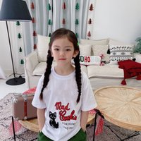 2021 high quality Funny Cartoon T Shirt Children Boys Girls T-shirt Cute Anime Casual Kids Tshirt Top Tees Kid