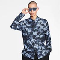 Camo reguläre kleid shirt frühling herbst neue mode mens designer shirts langarm männer arbeitshemd lässig importiert paris marke kleidung