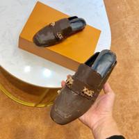 Top Qualité Fashion Femme Chaussures Plates Chaussures Femmes Chaussures Véritable Cuir Sports Jeunes Chaussures avec boîte Taille 35-40