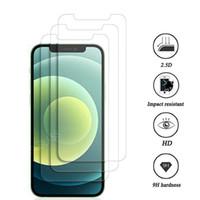 아이폰 12 용 강화 유리 화면 보호기 MINI 11 PRO XR XS MAX X 8 PLUS SAMSUNG GALAXY S9 LG V20 패키지가없는