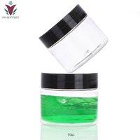 30 pcs 50g 50ml embalagem cosmética claro animal de estimação creme de plástico largo frasco frasco de creme de creme para maquiagem