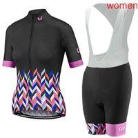 Liv team womens manica corta in bicicletta jersey set da ciclismo abiti mtb abbigliamento bicicletta ropa ciclismo s21012623