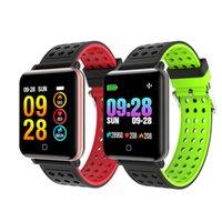 M19 Smart Armband Uhr Fitness Tracker Blut Sauerstoff Blutdruck Herzfrequenz Monitor SMART Armbanduhr Wasserdichte Uhr Für iPhone Android