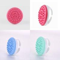 Dentate Health Preservation Body Brush Scalp Silicone Brushes Beauty Salon TPE Massager Labor Saving Multi Color 3 9nb O2
