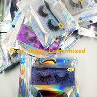 Faux Vizon Kirpikler 25 MM Wishy Kabarık Sahte Lashes 5D Makyaj Büyük Hacimli Crisscross Kullanımlık Yanlış Kirpik Uzantıları Güzellik Moda Aracı