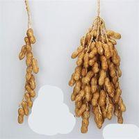Моделирование пены декоративные фруктовые струны овощей пучок лук кукурузные чеснок красный перец кластер кухонные украшения агрикола 3 8ns C2