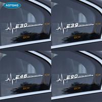 1 قطع ل bmw e28 e30 e34 e36 e39 e46 e53 e60 e61 e62 e70 e87 e90 e91 e92 e93 سيارة الجانب نافذة ملصقات سيارة ملصقا