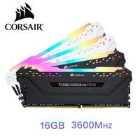 Vengeance RVB PRO RAM 16 Go de mémoire DDR4 16 Go 32 Go 3000MHz CP4 3200Mhz 3600Mzh DIMM Module Memoria
